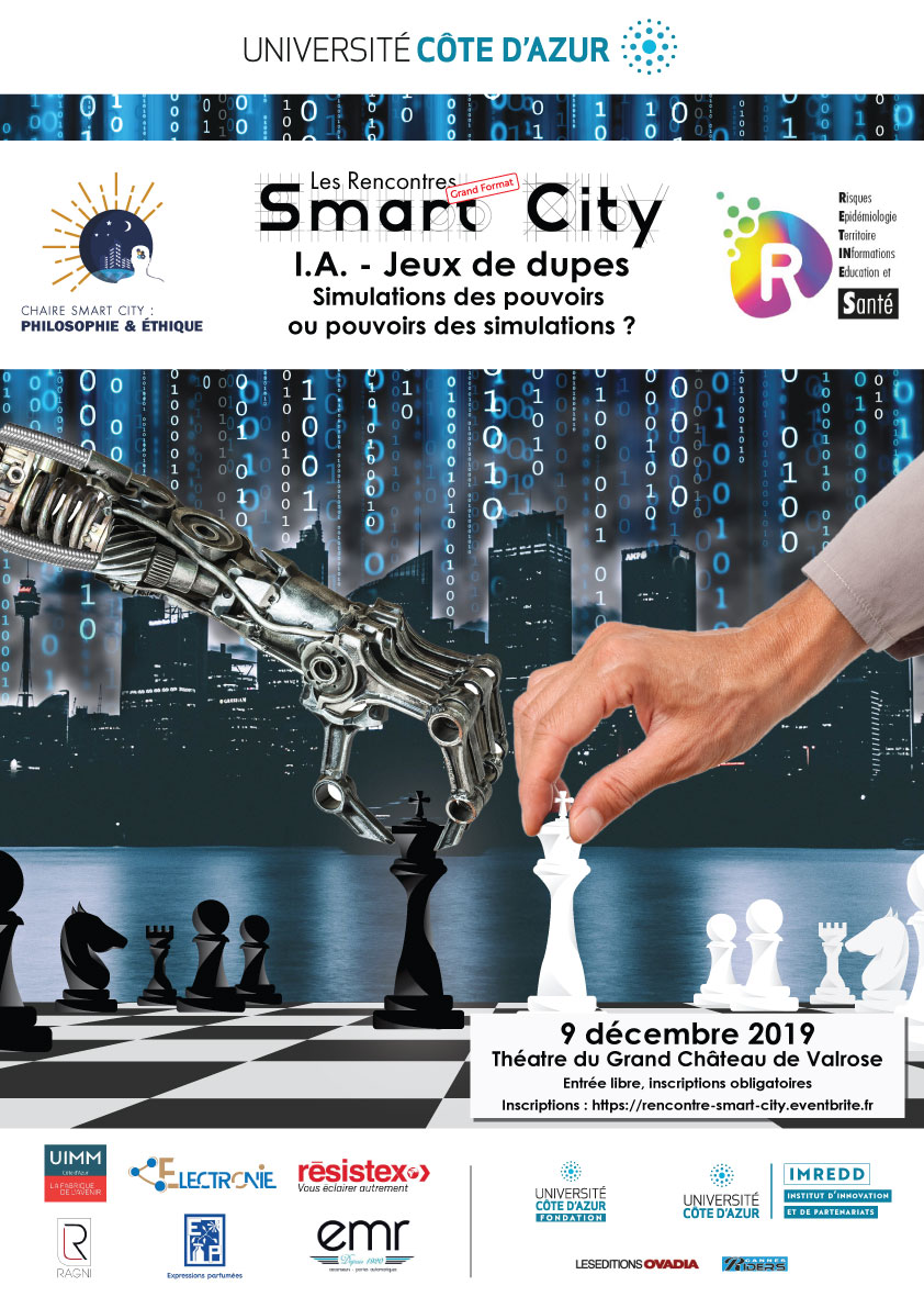Affiche colloque Smart City: Le catastrophisme